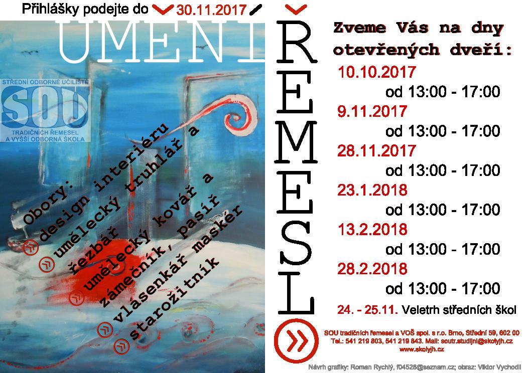 Plakát nábor 2017
