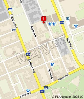 Kde nás najdete - Mapy.cz