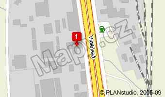 Vídeňská 120 - Mapy.cz